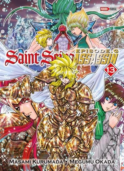 Couverture de Saint Seiya Épisode G - Assassin -13- Tome 13