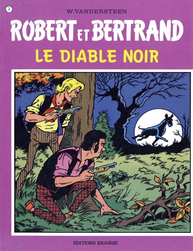 Couverture de Robert et Bertrand -7- Le diable noir