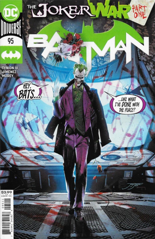 Couverture de Batman (DC Comics - 2016) -95- The Joker War, Part One
