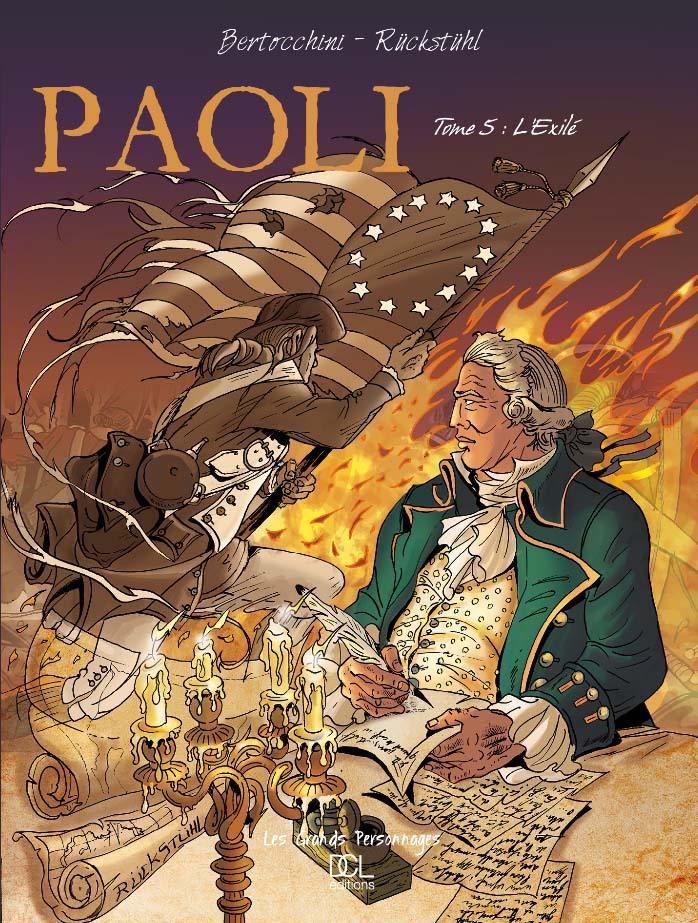 Couverture de Paoli -5- L'exilé