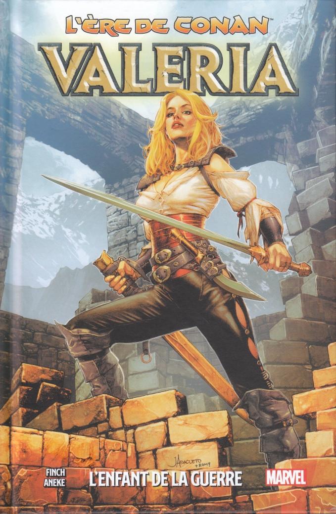 Couverture de L'Ère de Conan -2- Valéria, l'Enfant de la Guerre