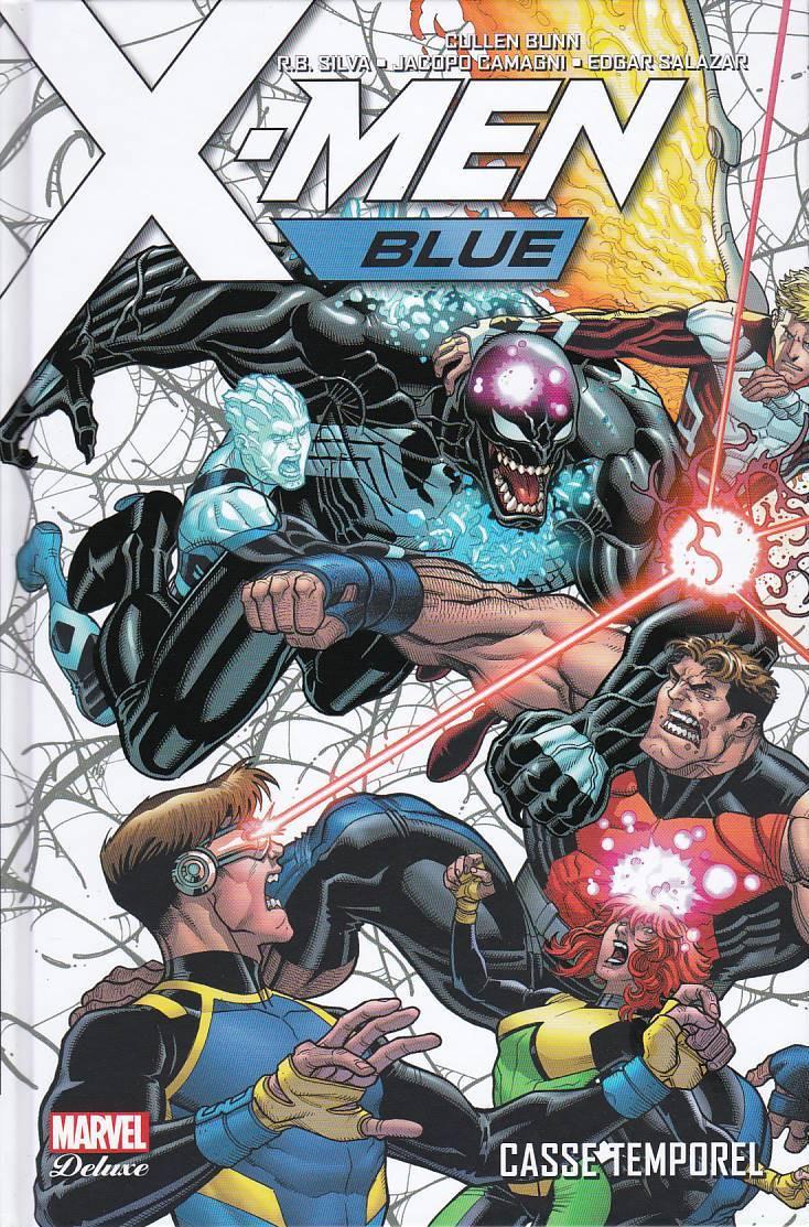 Couverture de X-Men: Blue -2- Casse temporel
