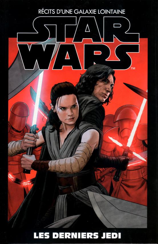 Couverture de Star Wars - Récits d'une galaxie lointaine -35- Les Derniers Jedi