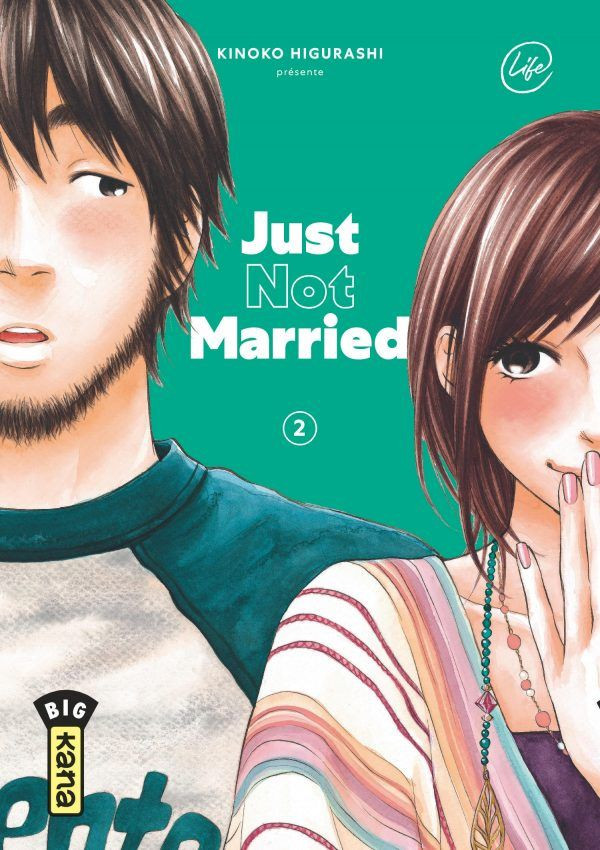 Couverture de Just not married -2- Tome 2