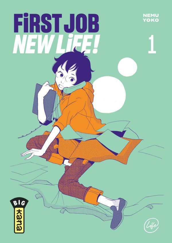 Couverture de First Job New Life ! -1- Tome 1