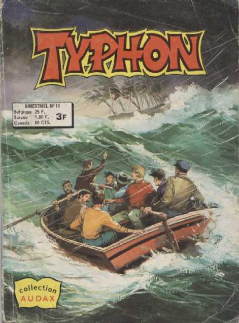 Couverture de Typhon -10- L'île de la Tempête