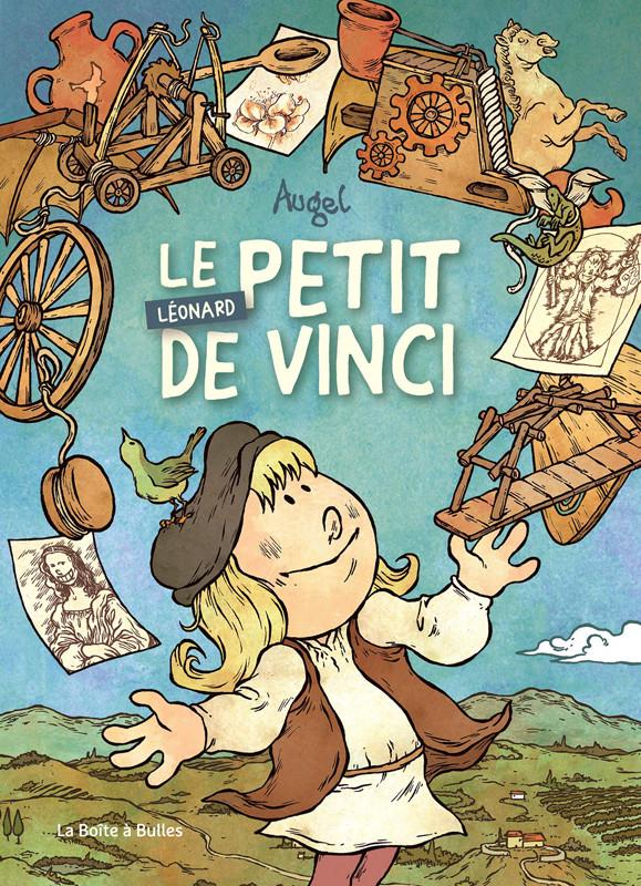 Couverture de Le petit Léonard de Vinci