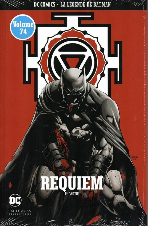 Couverture de DC Comics - La légende de Batman -7466- Requiem - 1re partie