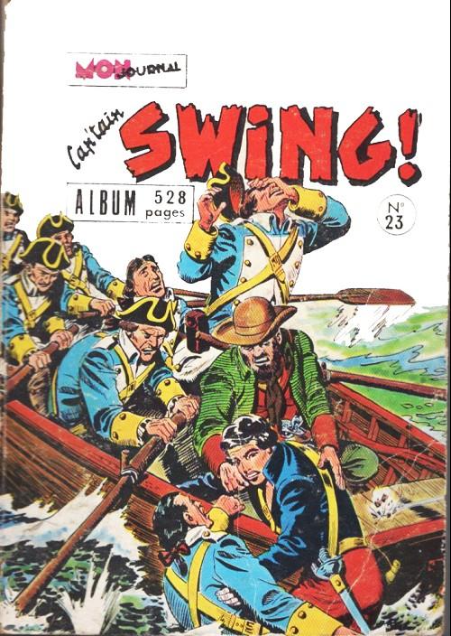 Couverture de Capt'ain Swing! (1re série) -Rec 23- Album n°23 (du n°91 au n°92)