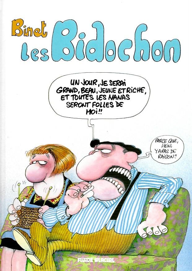 Couverture de Les bidochon -Compil- Les Bidochon