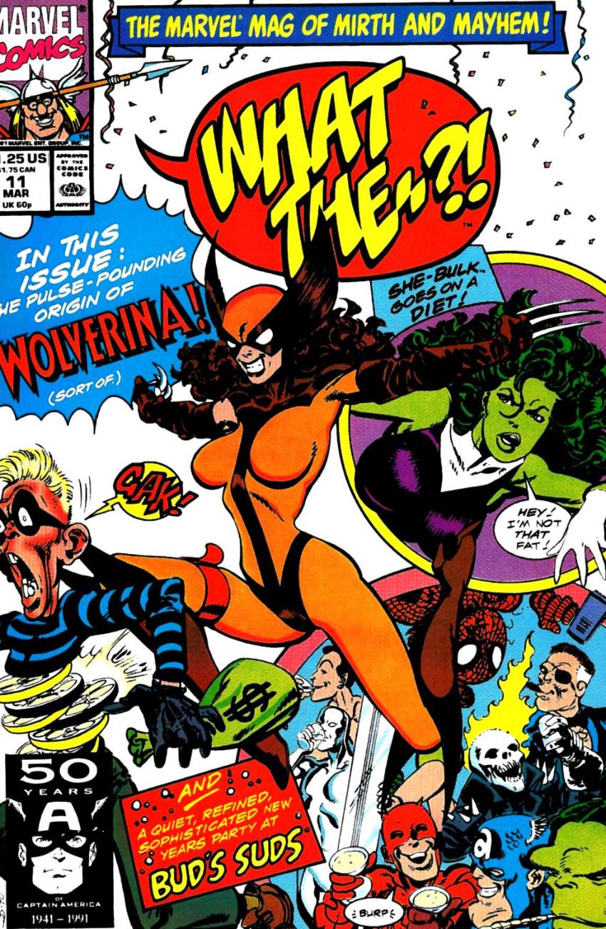 Couverture de What the..?! (Marvel comics - 1988) -11- Issue # 11