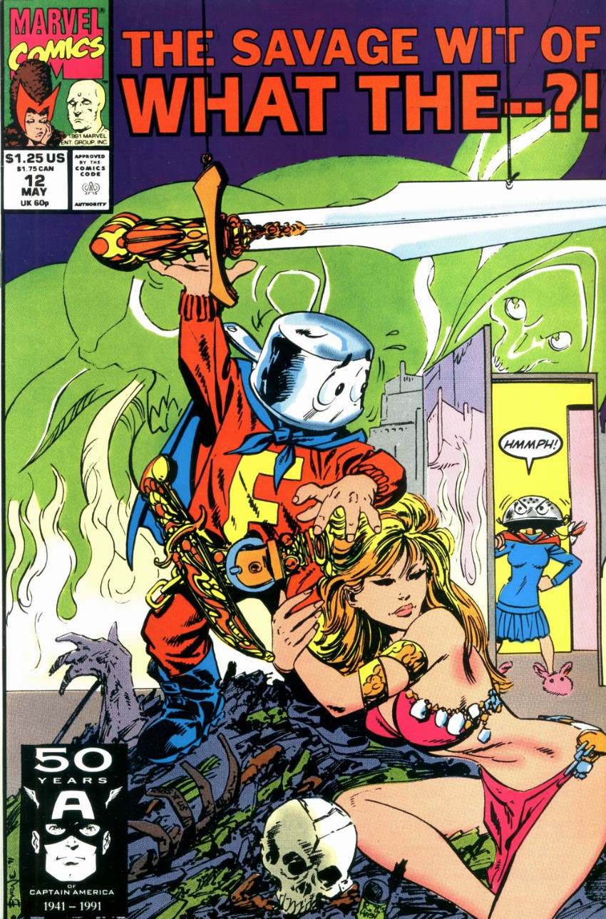 Couverture de What the..?! (Marvel comics - 1988) -12- The Savage Wit of What The--?!