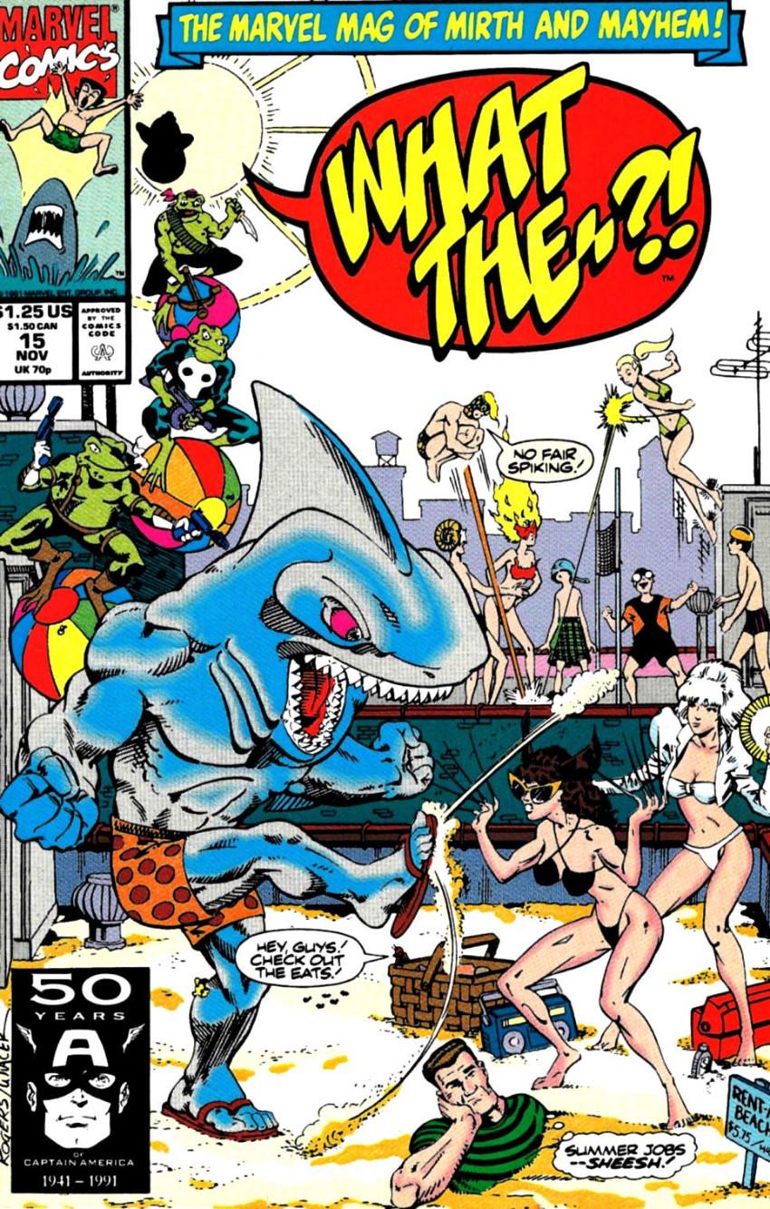 Couverture de What the..?! (Marvel comics - 1988) -15- Issue # 15