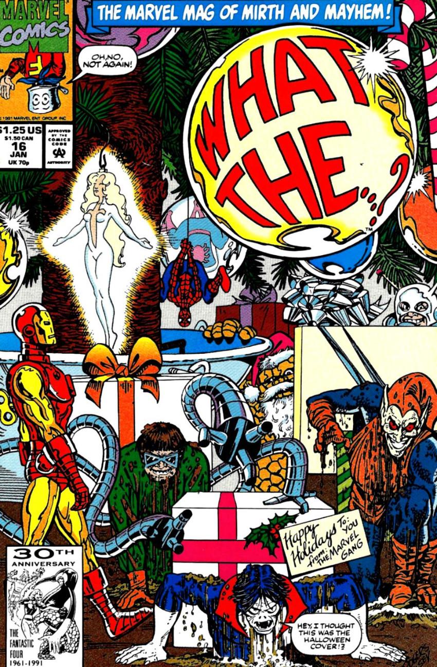 Couverture de What the..?! (Marvel comics - 1988) -16- Issue # 16