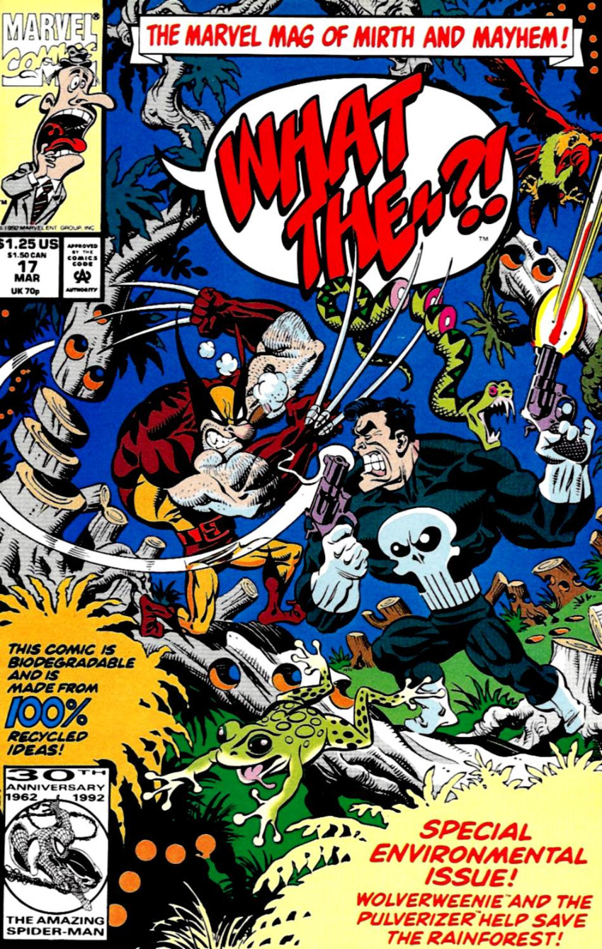 Couverture de What the..?! (Marvel comics - 1988) -17- Special Environmental Issue!