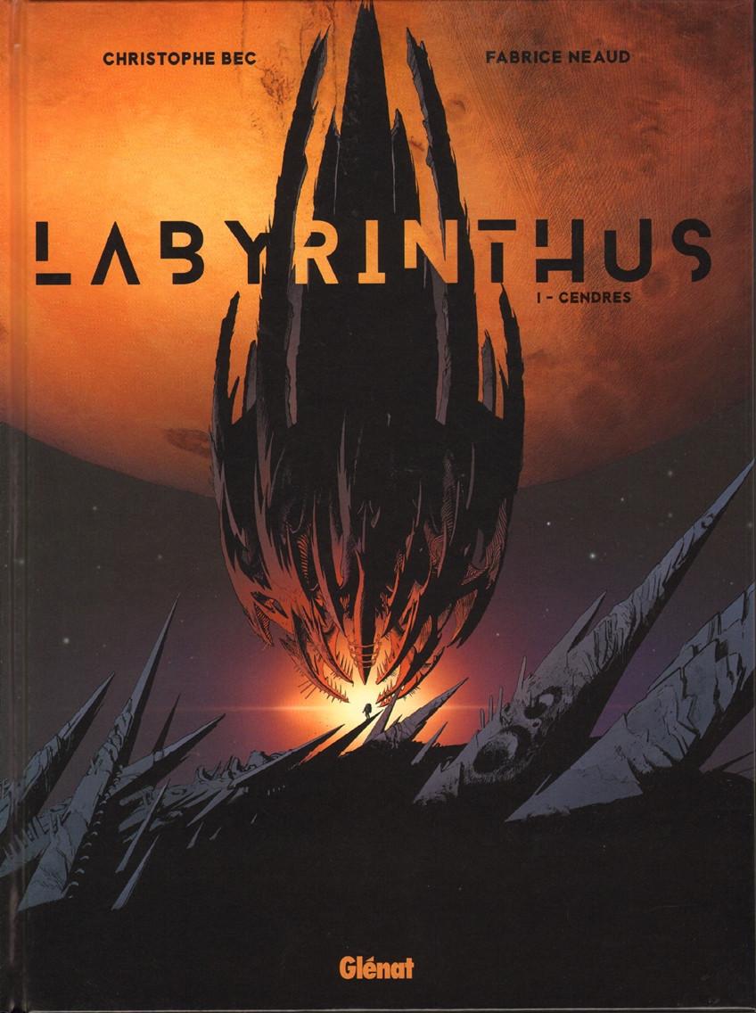 Couverture de Labyrinthus -1- Cendres