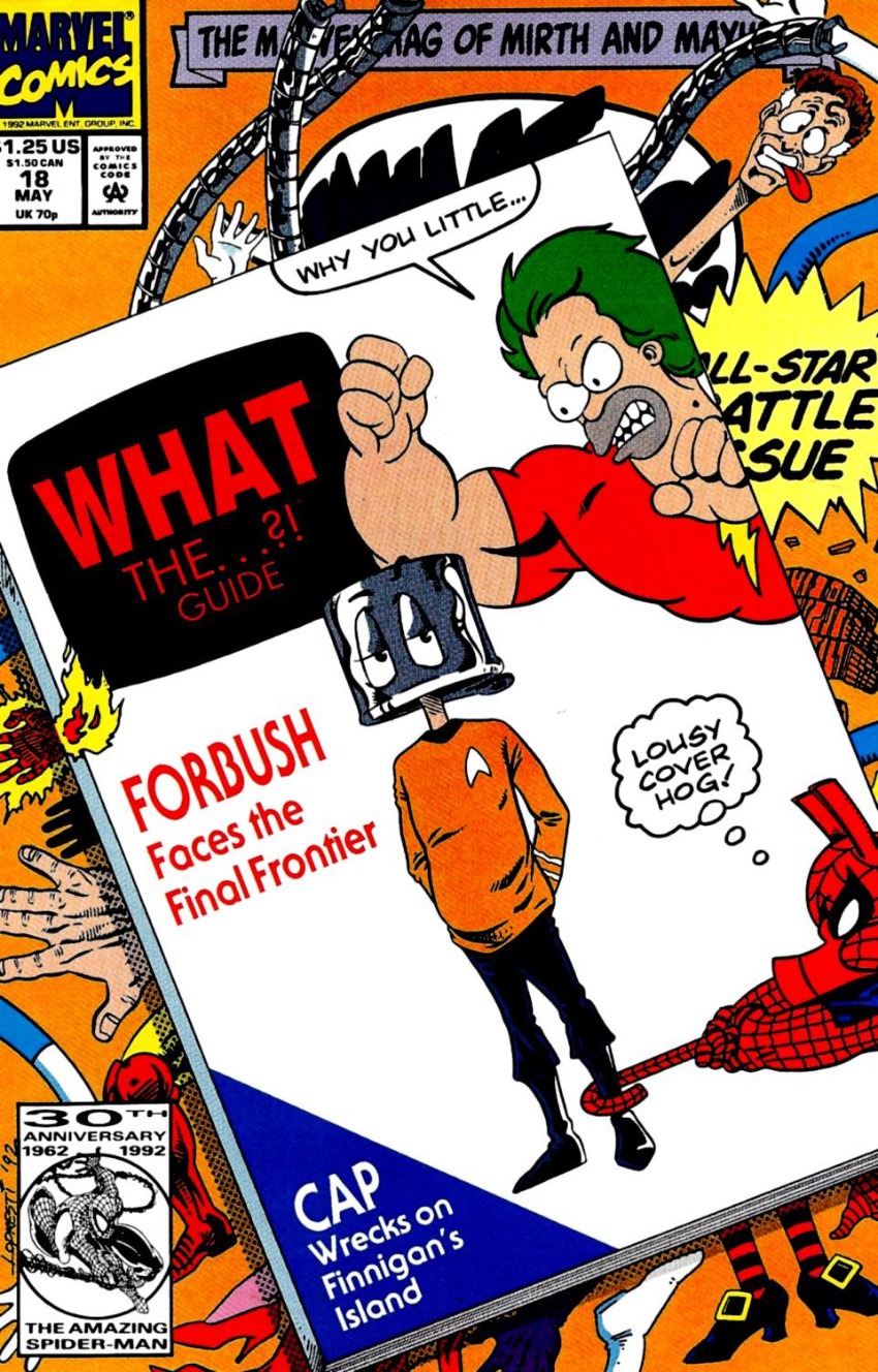 Couverture de What the..?! (Marvel comics - 1988) -18- What The...?! Guide