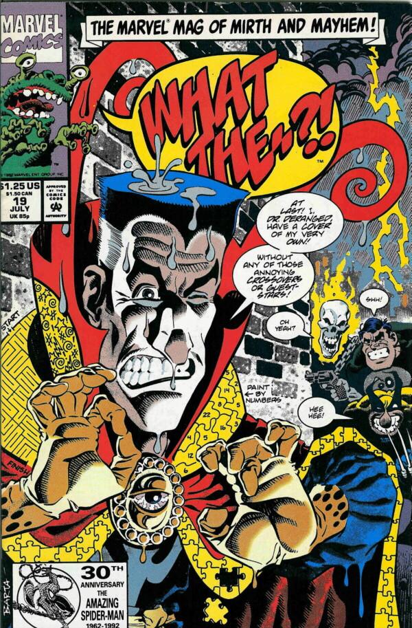 Couverture de What the..?! (Marvel comics - 1988) -19- Issue # 19