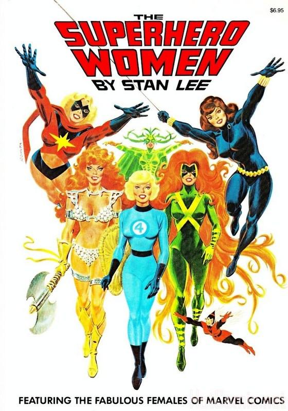 Couverture de Superhero Women (The) (Marvel comics - 1977) - The Superhero Women
