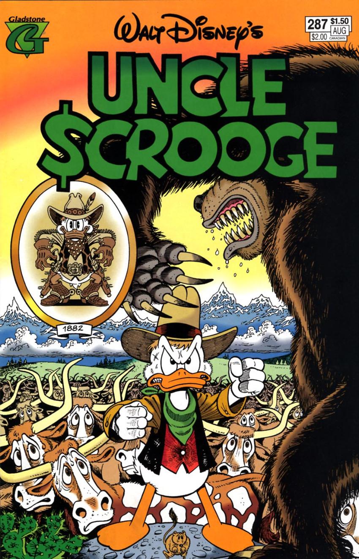 Couverture de Uncle $crooge (5) (Gladstone - 1993) -287- Issue # 287
