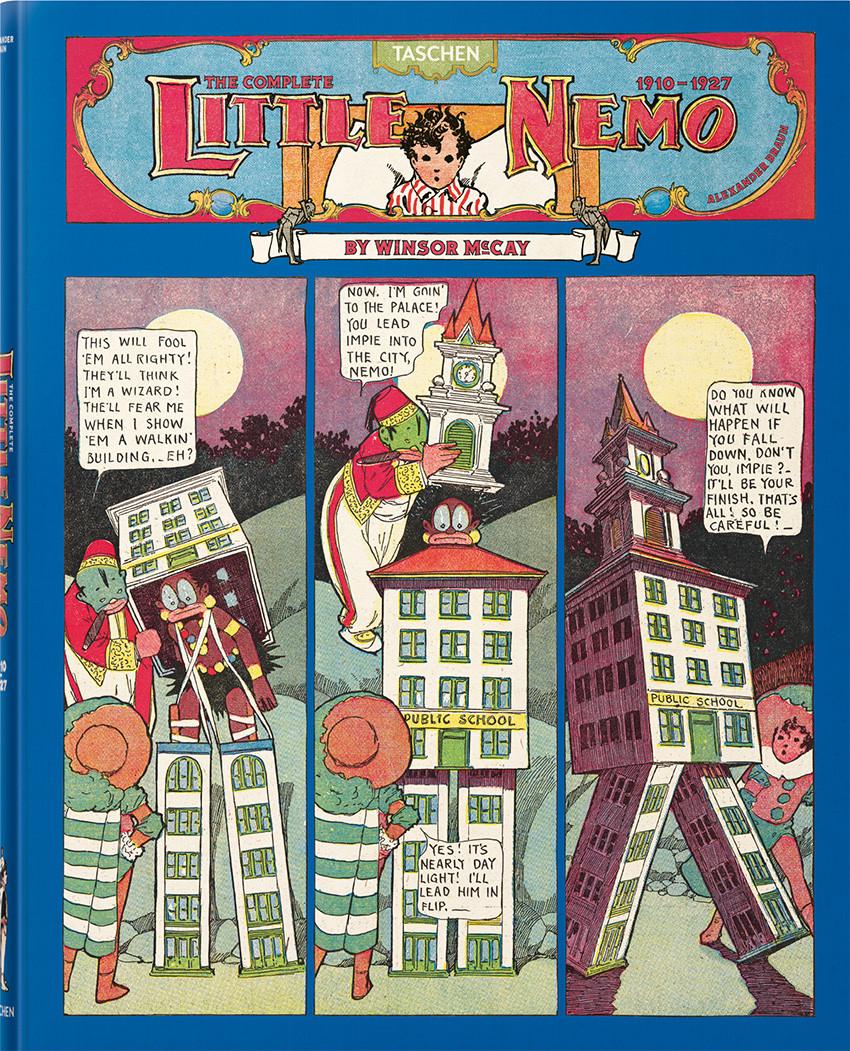 Couverture de Little Nemo in Slumberland -INTa2- The Complete Little Nemo - 1910-1927