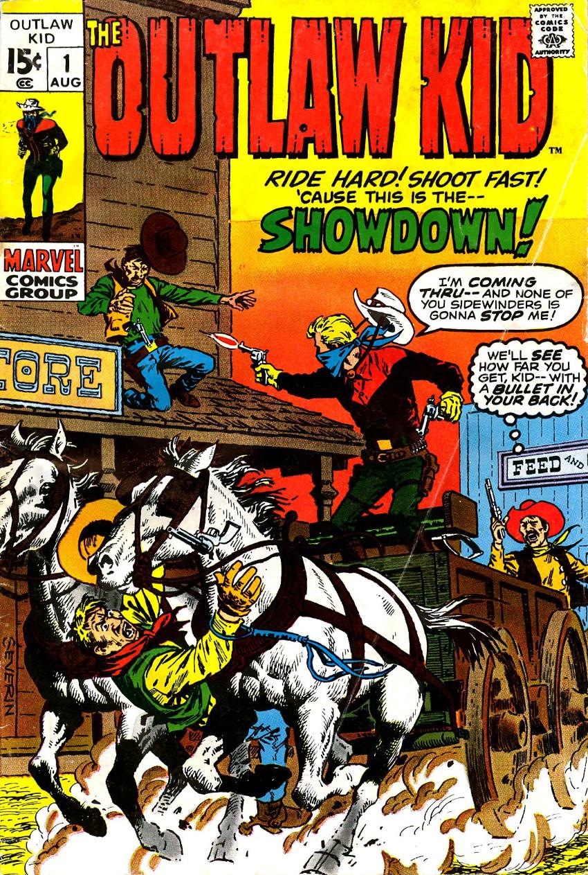Couverture de The outlaw Kid Vol.2 (Marvel - 1970) -1- Showdown!