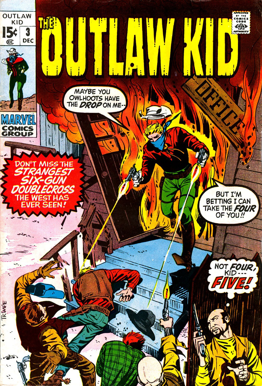 Couverture de Outlaw Kid Vol.2 (The) (Marvel - 1970) -3- Issue # 3