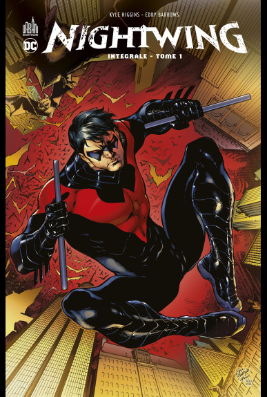 Couverture de Nightwing -INT1- Intégrale Tome 1
