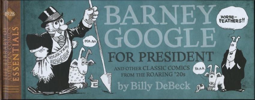 Couverture de LOAC Essentiels (Library of American Comics) -14- Barney Google (1928)