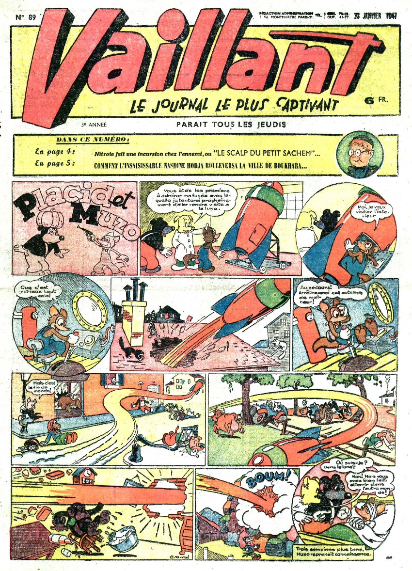 Couverture de Vaillant (le journal le plus captivant) -89- Vaillant