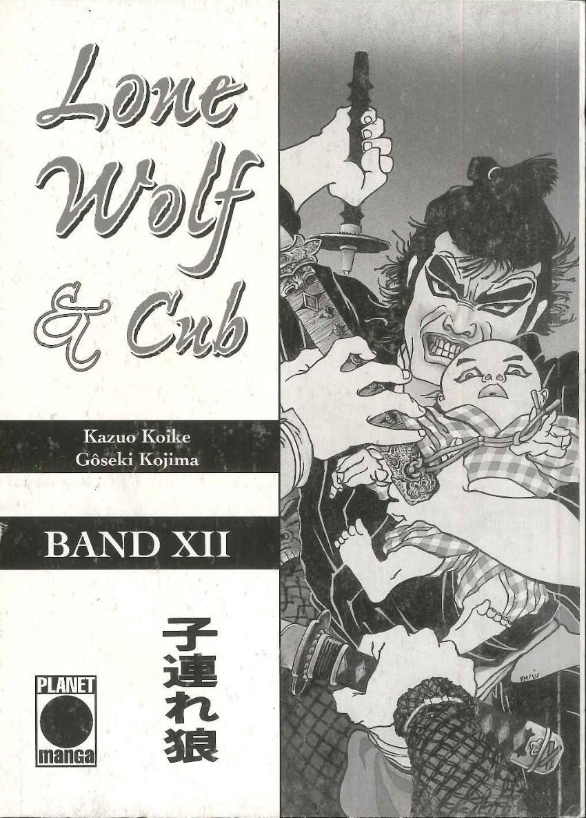 Couverture de Lone Wolf & Cub (Allemand) -12- Volume 12