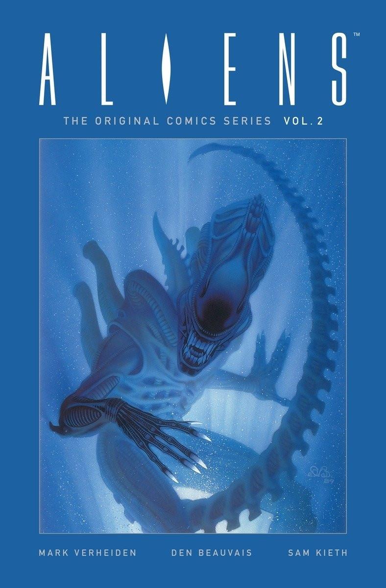 Couverture de Aliens - The Original Comics Series -INT02- Volume 2