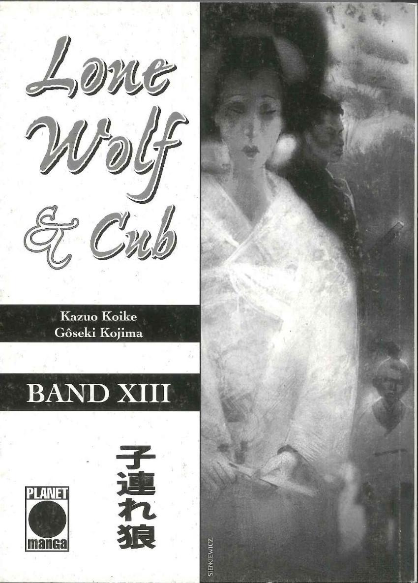 Couverture de Lone Wolf & Cub (Allemand) -13- Volume 13