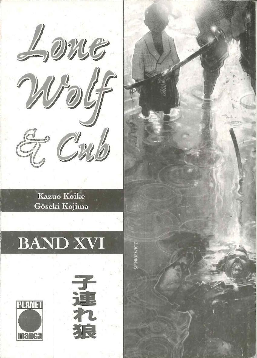 Couverture de Lone Wolf & Cub (Allemand) -16- Volume 16