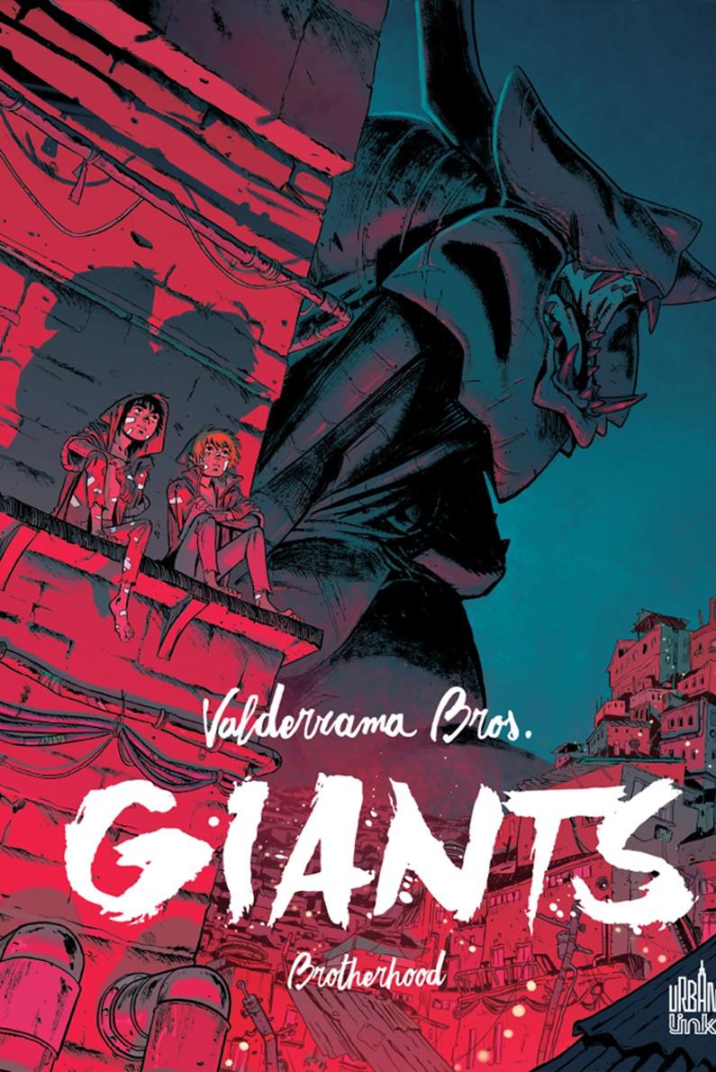 Couverture de Giants -1- Tome 1