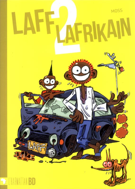 Couverture de Laff Lafrikain - Tome 2