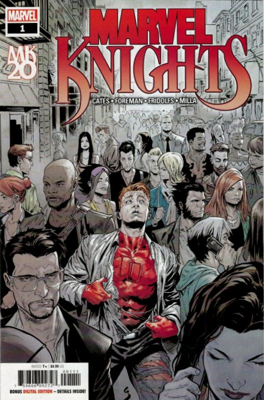 Couverture de Marvel Knights 20th (Marvel comics - 2018) -1A- Issue # 1