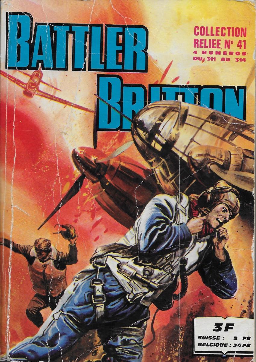 Couverture de Battler Britton (Imperia) -Rec41- Collection Reliée N°41 (du n°311 au n°314)