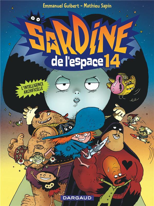 Couverture de Sardine de l'espace (Dargaud) -14- L'intelligence archificelle