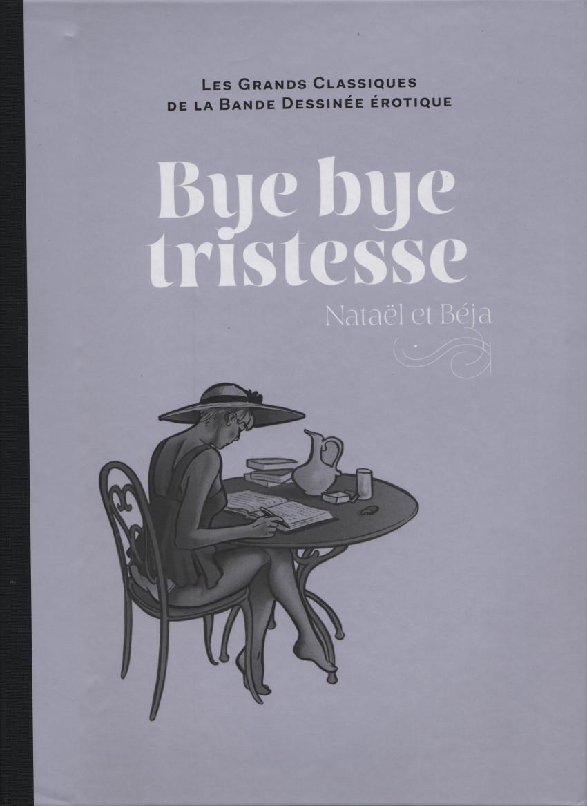 Couverture de Les grands Classiques de la Bande Dessinée érotique - La Collection -108108- Bye bye tristesse
