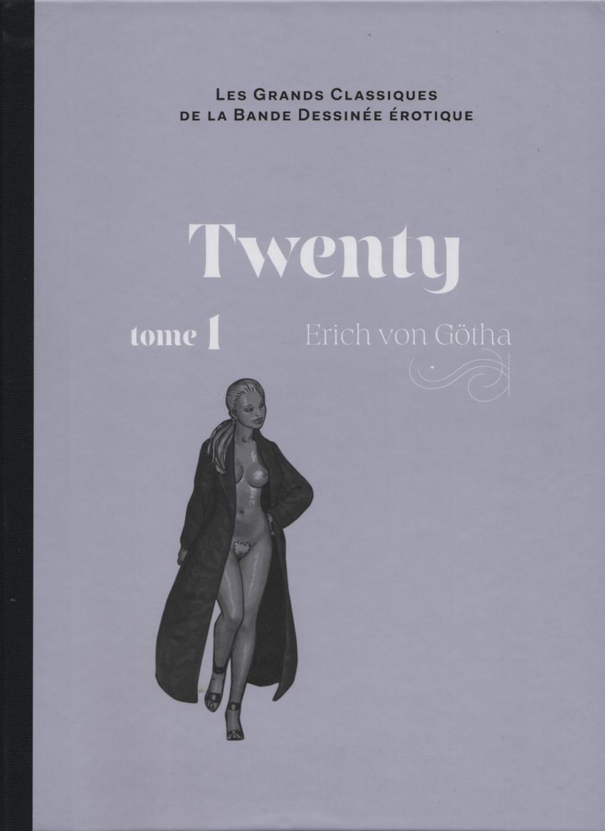 Couverture de Les grands Classiques de la Bande Dessinée érotique - La Collection -109109- Twenty - Tome 1