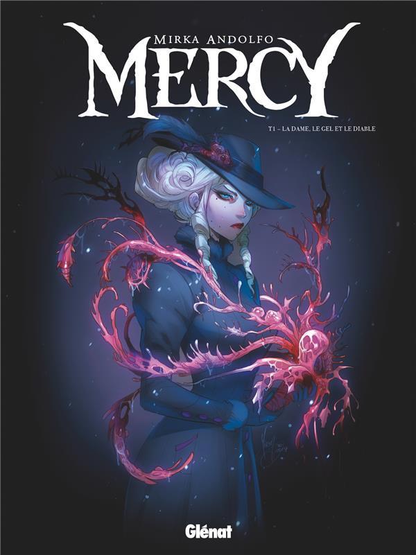 Couverture de Mercy (Andolfo) -1- La Dame, le Gel et le Diable