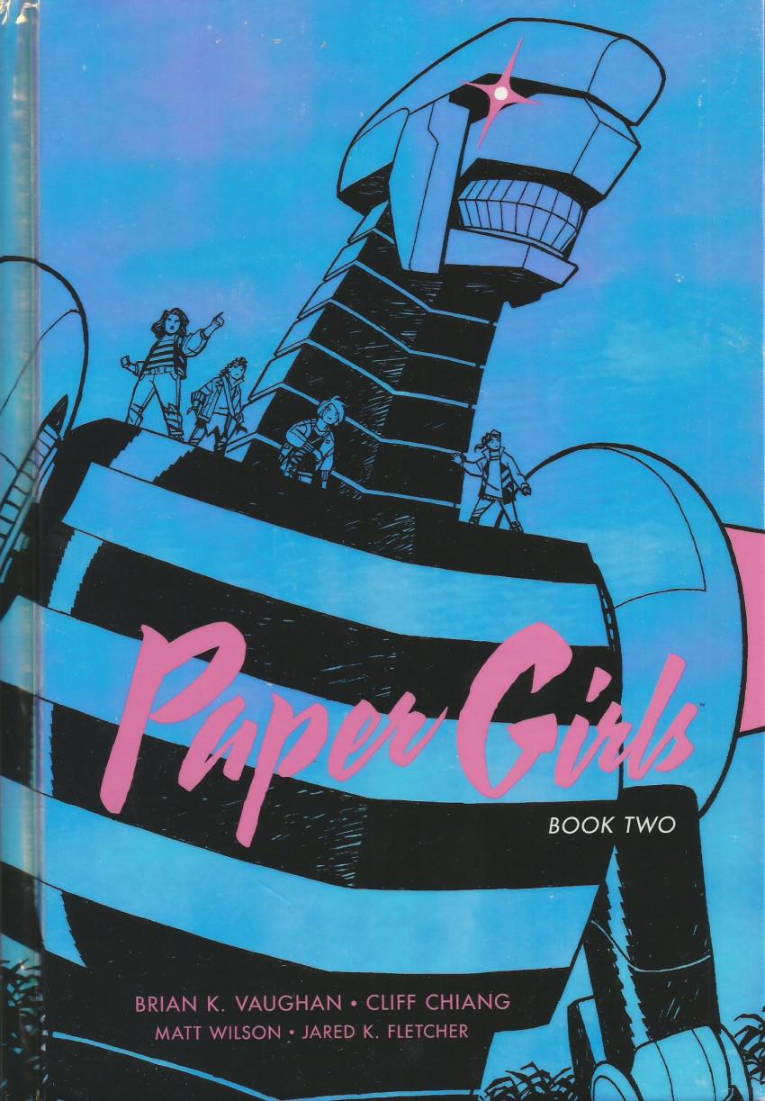 Couverture de Paper Girls (Image comics - 2015) -INTHC02- Book two