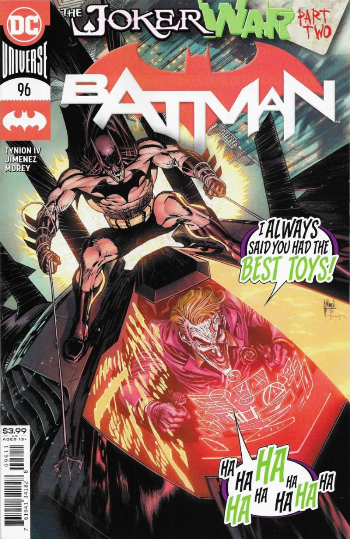 Couverture de Batman (DC Comics - 2016) -96- The Joker War, Part Two