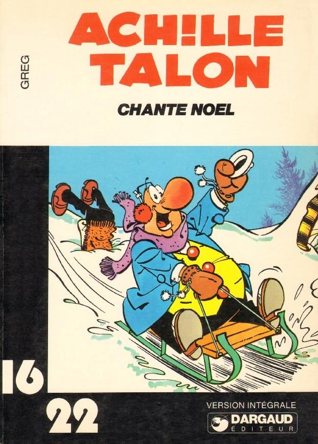 Couverture de Achille Talon (16/22) -746- Achille Talon chante Noël