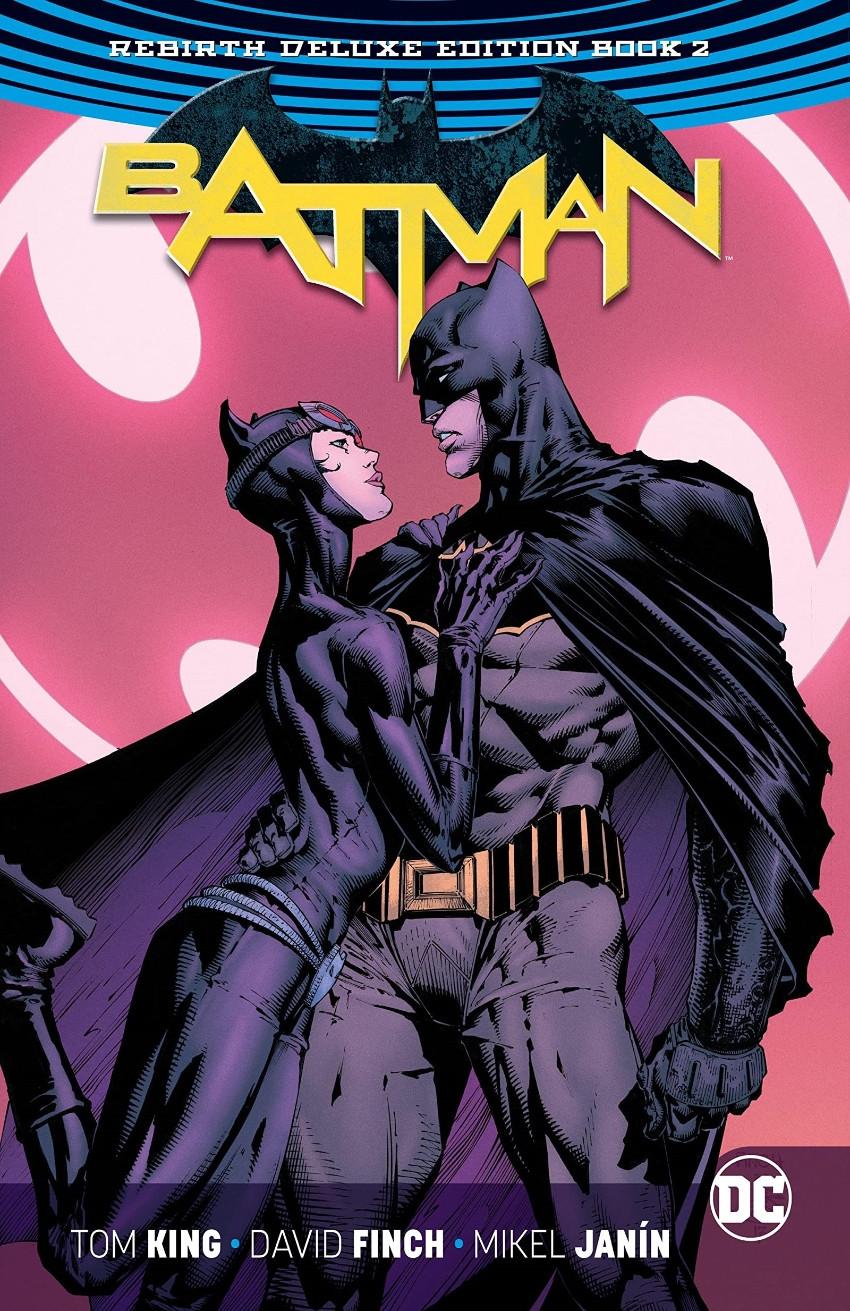 Couverture de Batman (DC Comics - 2016) -INTHC02- Batman: The Rebirth Deluxe Edition - Book 2