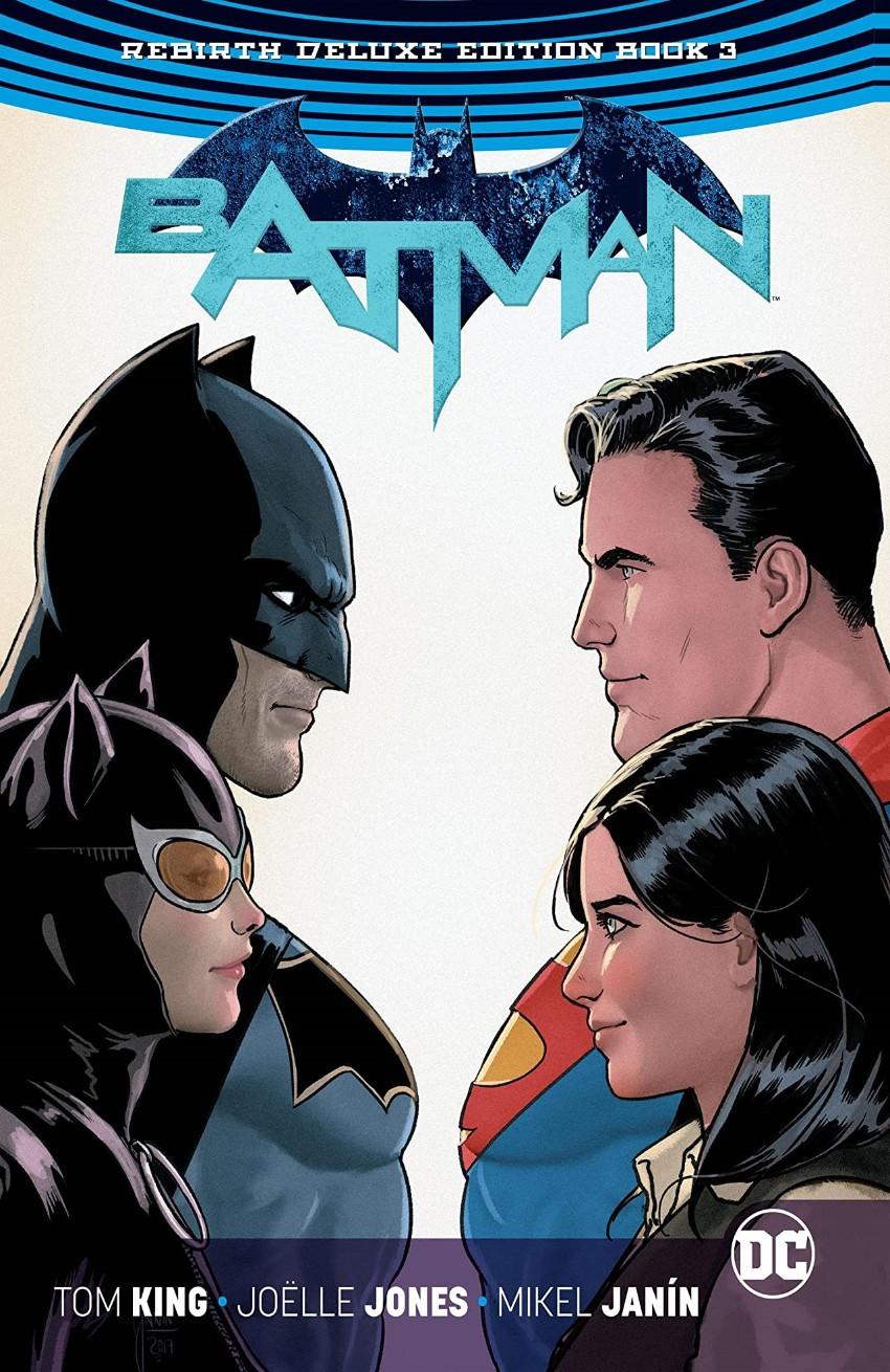 Couverture de Batman (DC Comics - 2016) -INTHC03- Batman: The Rebirth Deluxe Edition - Book 3