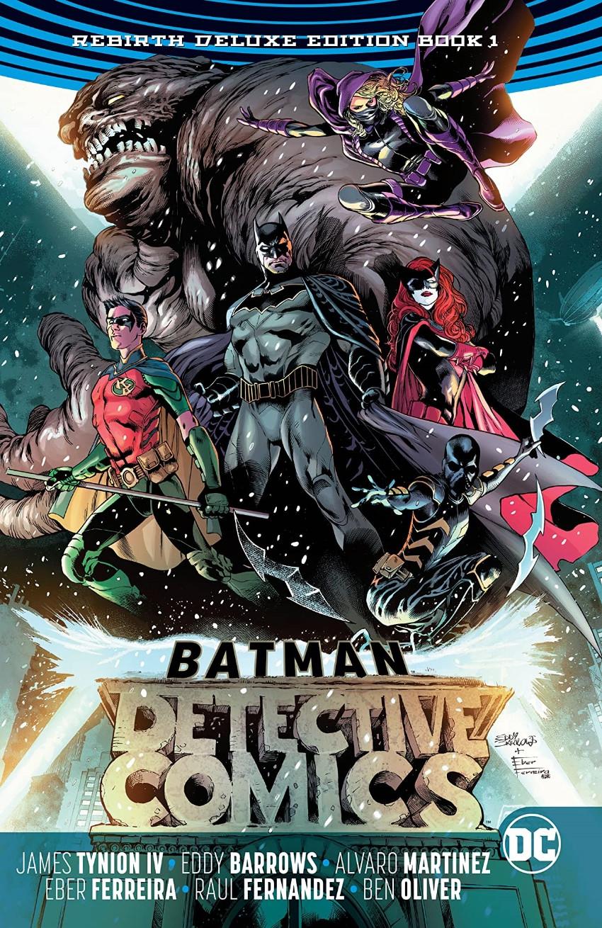 Couverture de Detective Comics (1937), Période Rebirth (2016) -INTHC01- Batman - Detective Comics: The Rebirth Deluxe Edition - Book 1
