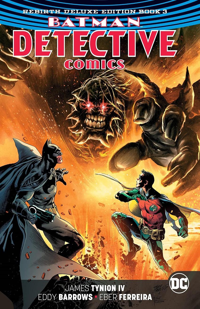 Couverture de Detective Comics (1937), Période Rebirth (2016) -INTHC03- Batman - Detective Comics: The Rebirth Deluxe Edition - Book 3