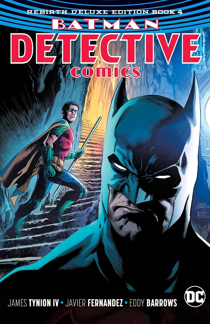 Couverture de Detective Comics (1937), Période Rebirth (2016) -INTHC04- Batman - Detective Comics: The Rebirth Deluxe Edition - Book 4
